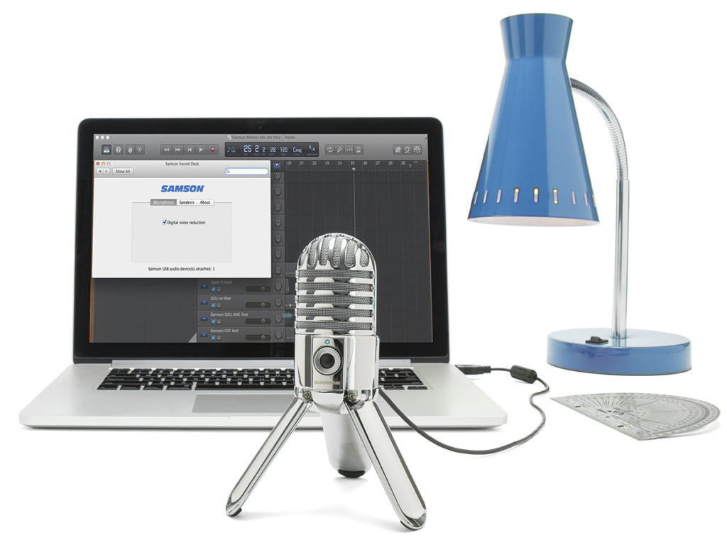 Meteor Mic with laptop