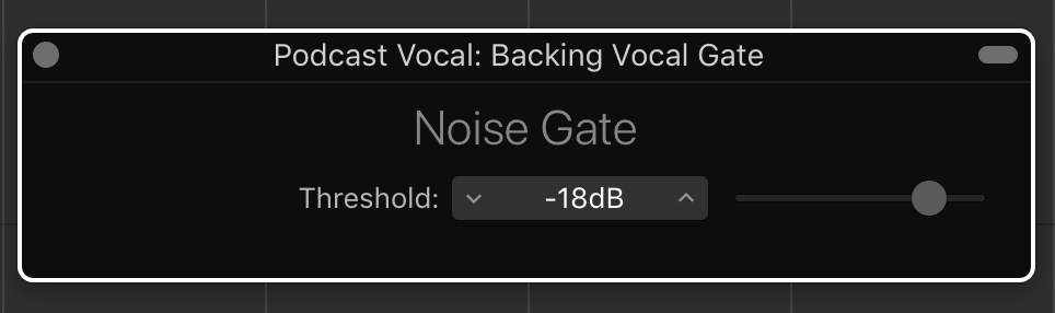 Samson Noise Gate