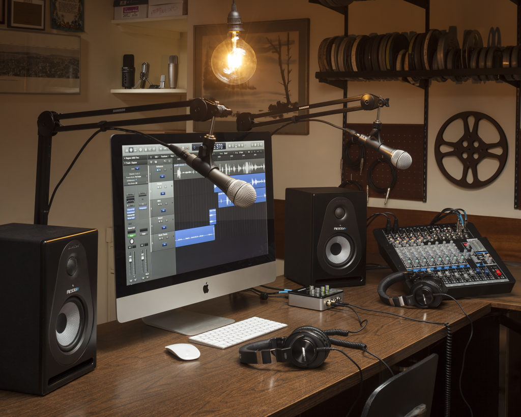 Samson Podcast Pro Studio Room